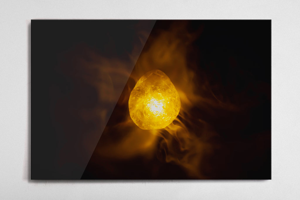Mind - Infinity Stone Poster - Style 1 - Metal Print
