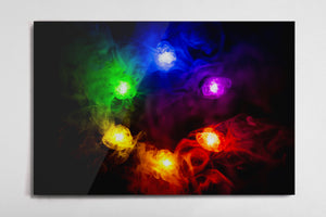 Infinity Stones Poster - Style 3 - Metal Print