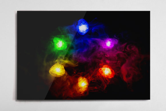 Infinity Stones Poster - Style 1 - Metal Print