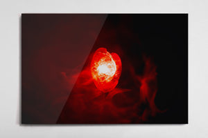 Reality - Infinity Stone Poster - Style 2 - Metal Print