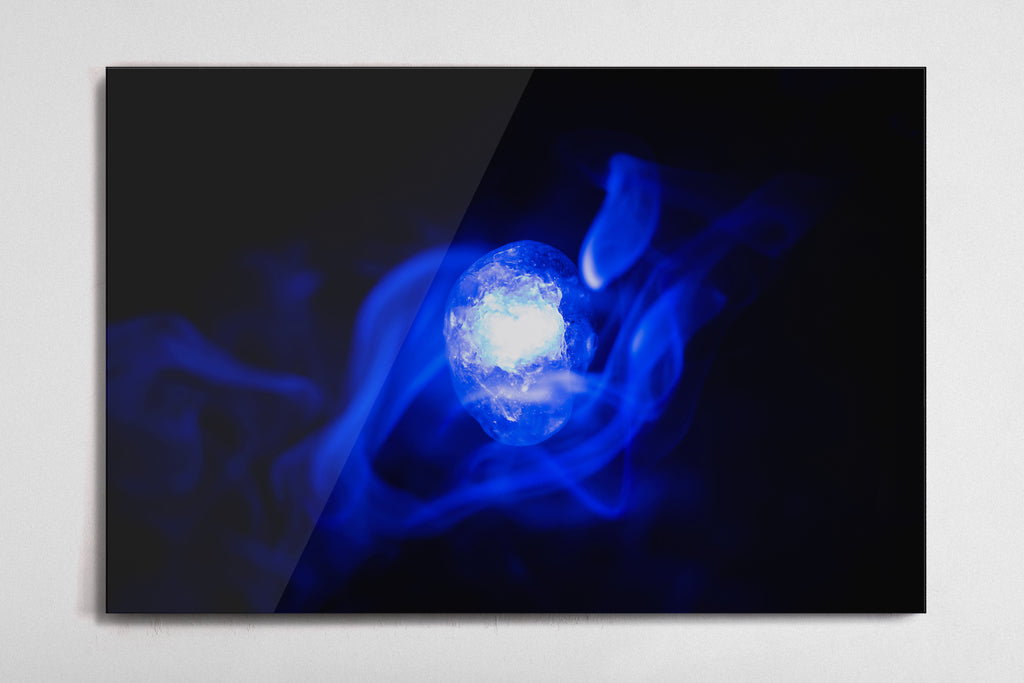 Space - Infinity Stone Poster - Style 1 - Metal Print