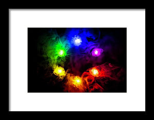 Infinity Stones Poster - Style 3 - Framed Print