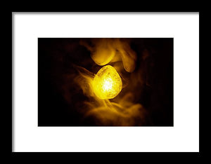 Mind - Infinity Stone Poster - Style 2 - Framed Print