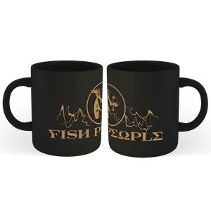 'Fish People' Mug (Black)