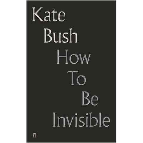'How To Be Invisible' Lyric Book