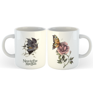 'Never for Ever' Mug (White)