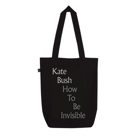 'Invisible' Tote Bag (Black)