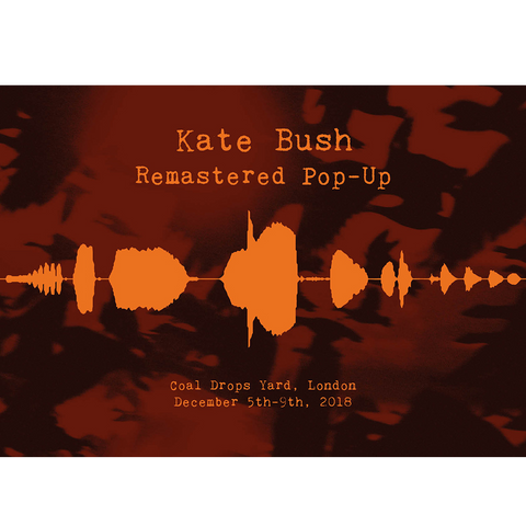 'Remastered Pop Up Event Poster
