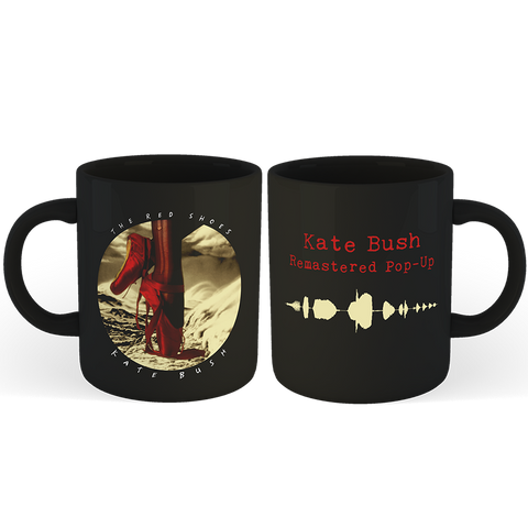 'Red Shoes' Mug (Black)