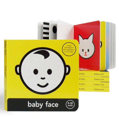 Mesmerised Baby Face Book - Kids - carte-home-store - Mesmerised