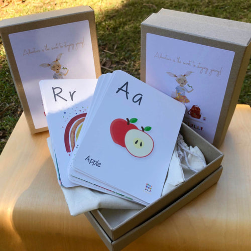 Miss Mila Lilli - Alphabet Flashcards