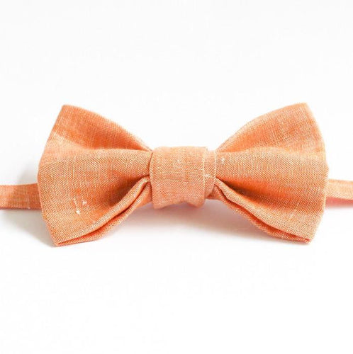 linen handmade bow tie gift for dad