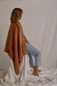 The Traveller - linen wrap