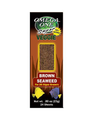 Omega One Super Veggie Brown Seaweed