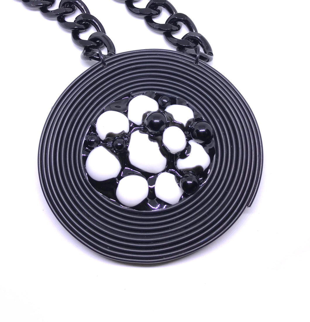 Dinner Roll Necklace