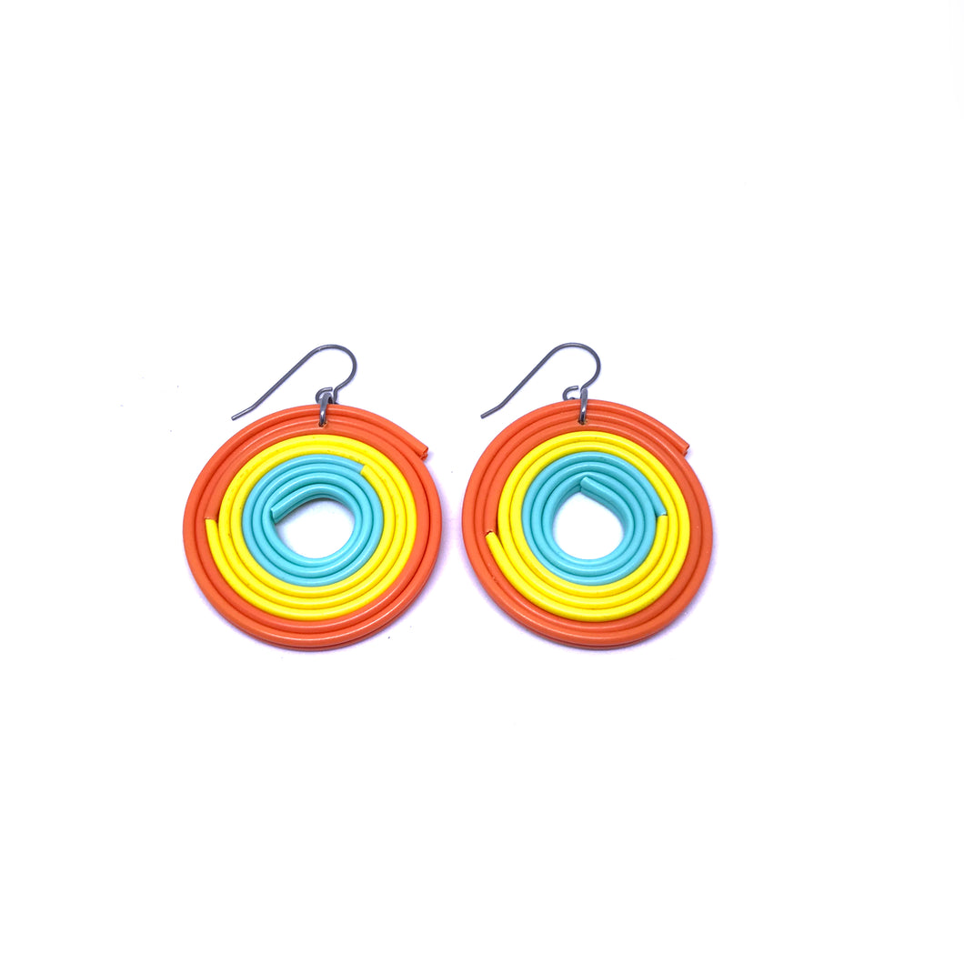 Frisky Frisbee Earrings