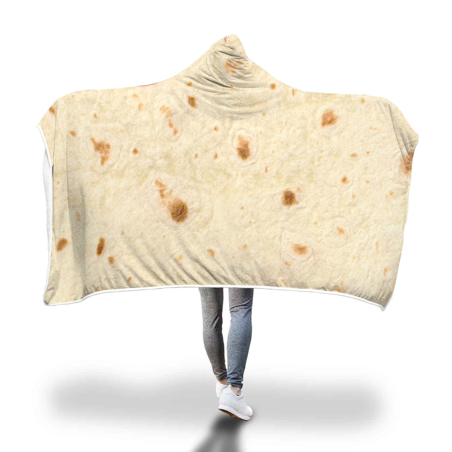 Tortilla Hooded Blanket