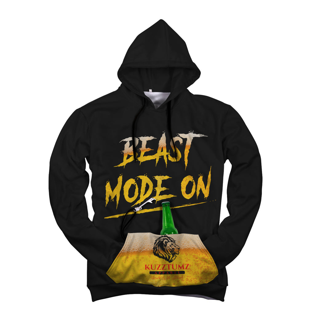 Beast Mode On Beer Hoodie