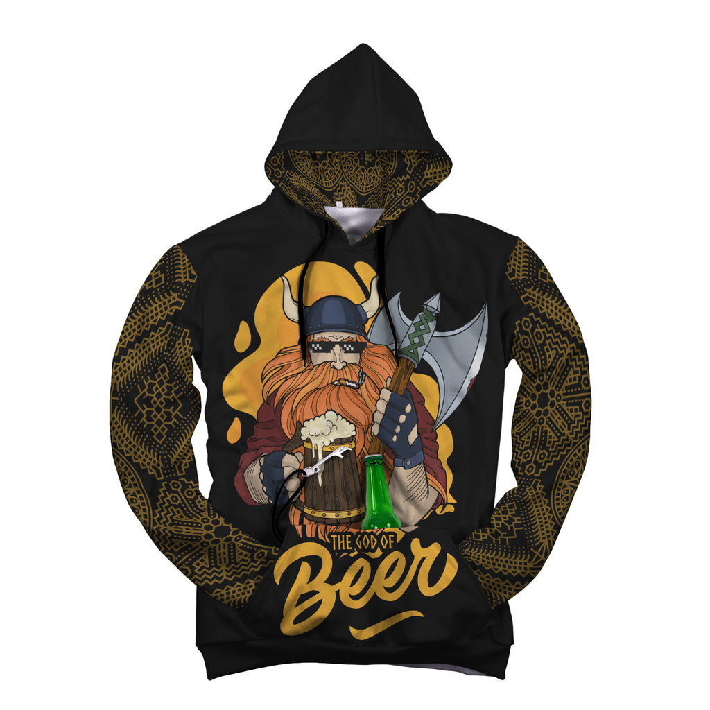 God of Beer Beer Hoodie