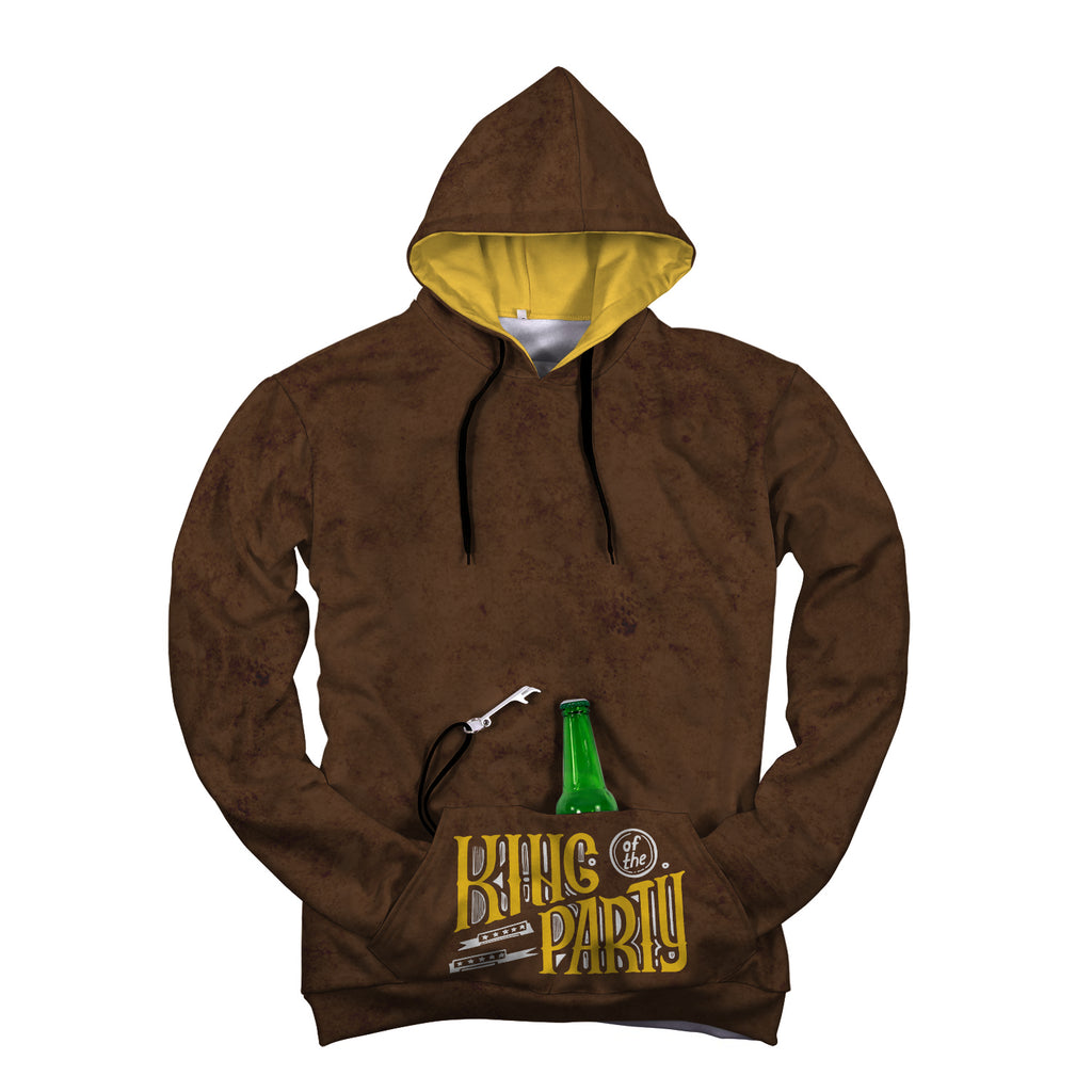 King of The Party Beer Hoodie