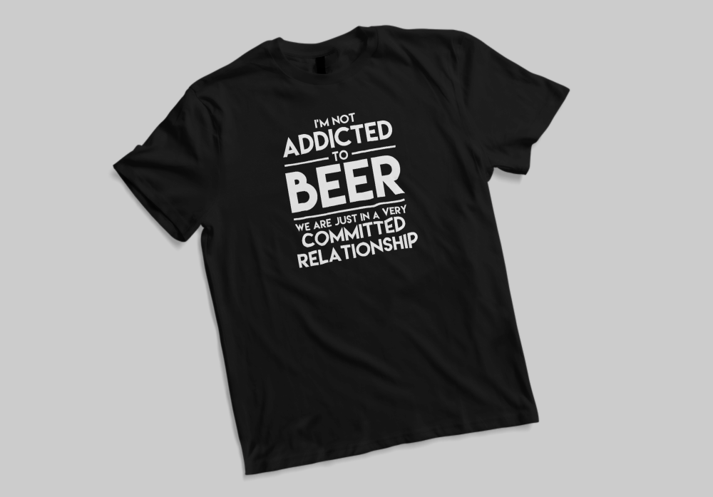 Addicted To Beer Tee