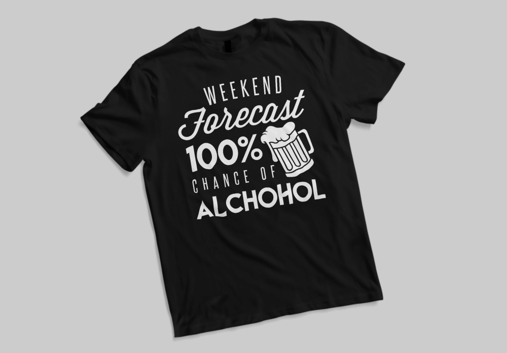 Weekend Forecast Tee