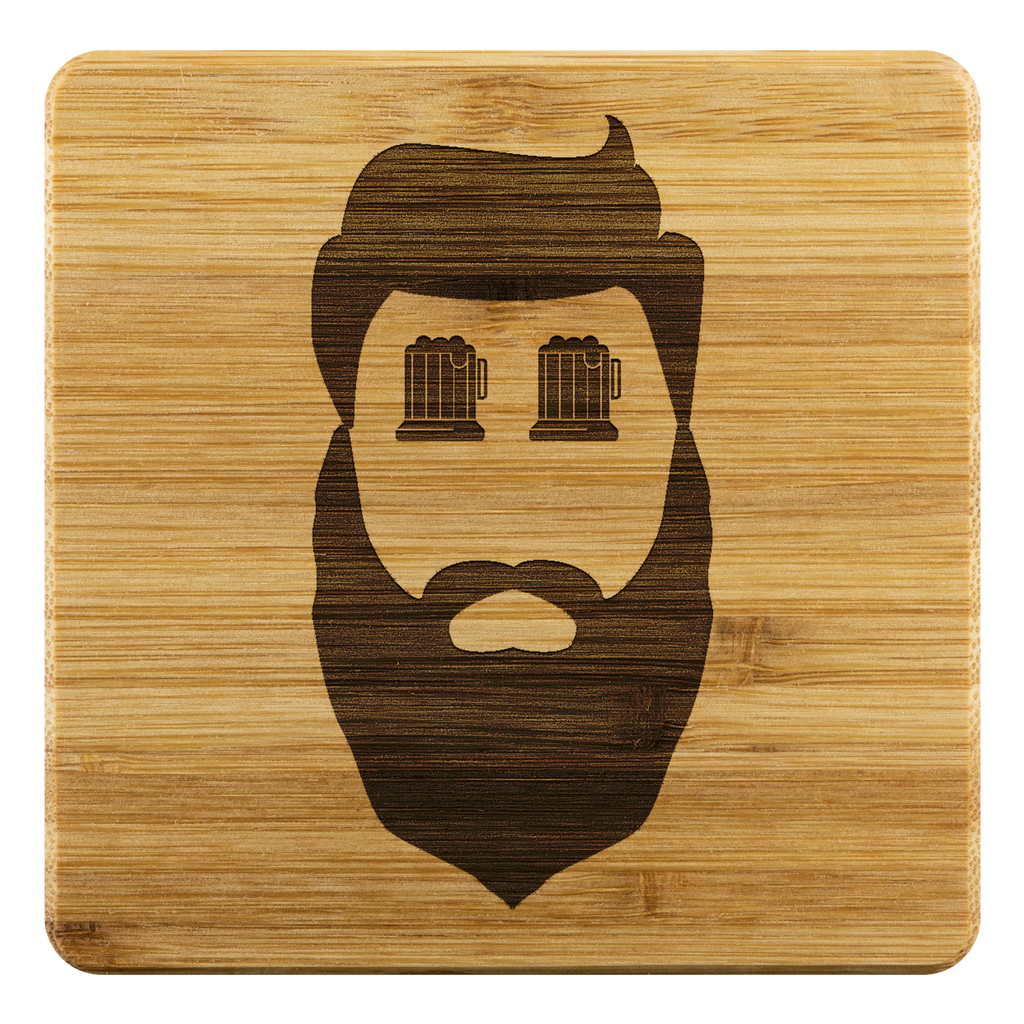 Beards & Beer Coasters