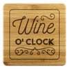 Wine O'clock Coasters
