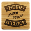 Beer O'Clock Coasters