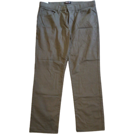 Kirkland Men's Driftwood Twill Cotton Pants: Driftwood / Size 36x 30 (no tags)