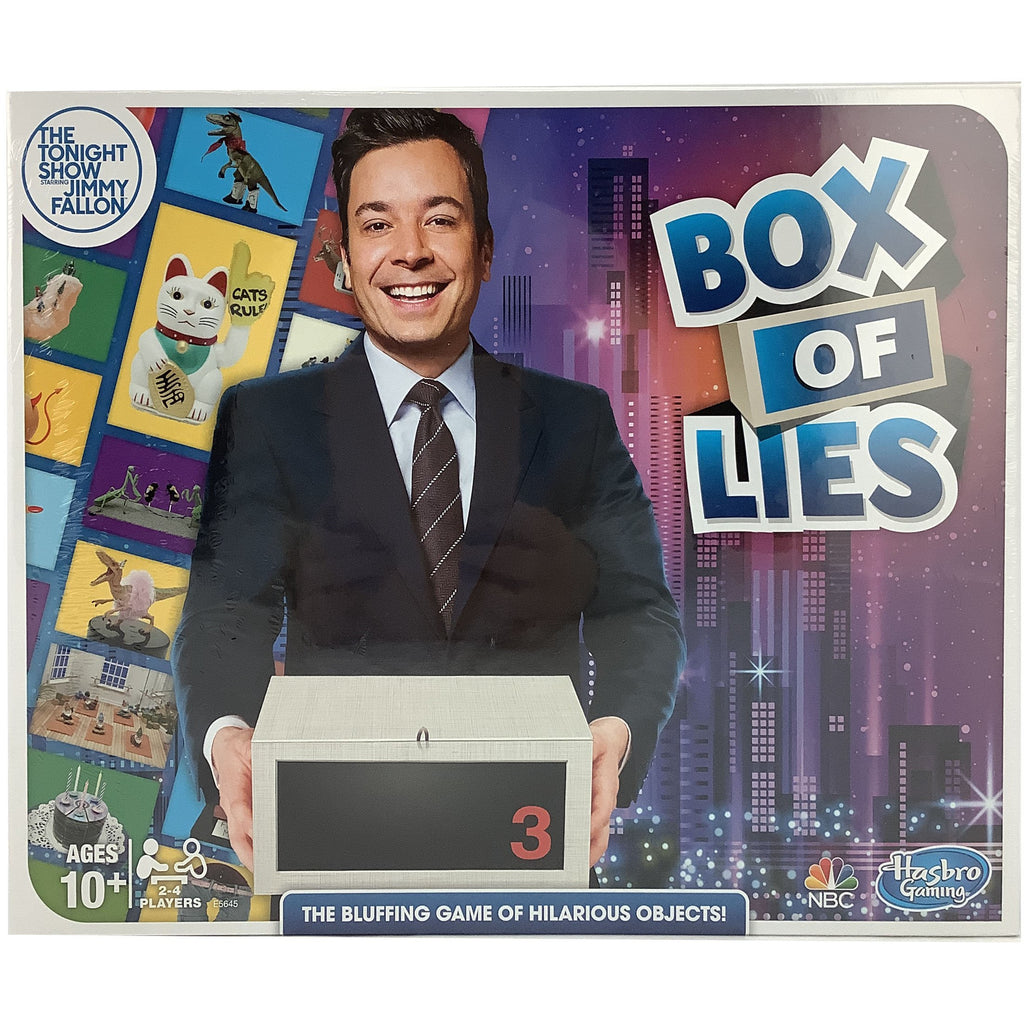 Hasbro Gaming: Box of Lies: The Tonight Show Starring Jimmy Fallon