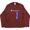 Champion Men's Long Sleeve Sweatshirt: Large | Burgundy
