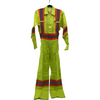 Condor Safety Coveralls: Hi-Viz | Yellow | Size 38 I Unlined