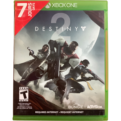 "Xbox One ""Destiny 2"" Game: Video Game: Opened"