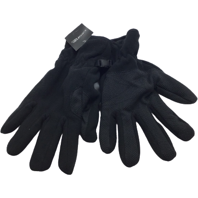George Men's Gloves: Black OS