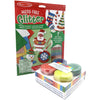 Kids Arts and Crafts Glitter Sheets and Finger Paint Bundle Christmas Decorations