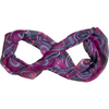 Women's Fashion Scarf: Pink with Pattern: Infinity Scarf (no tags)