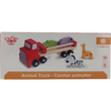 Tooky Wooden Toy Animal Truck: 6 pieces / Toddler Sensory Toys