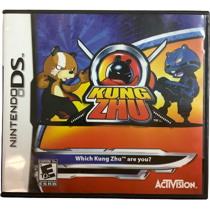 "Nintendo DS ""Kung Zhu"" Game: Video Game: Opened"