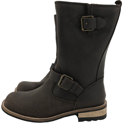 Kodiak Women's Mid Calf Boots: Leather | Brown | Size 7 (no tags)