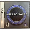 "Nintendo DS ""Who Wants To Be A Millionaire"" Game: Video Game: Opened"