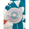 Safdie & Co Multicolour Round Beach Towel