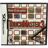 "Nintendo DS ""Touchmaster 3"" Game: Video Game: Opened"