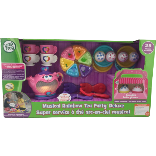 Leap Frog Musical Rainbow Tea Party Deluxe Set