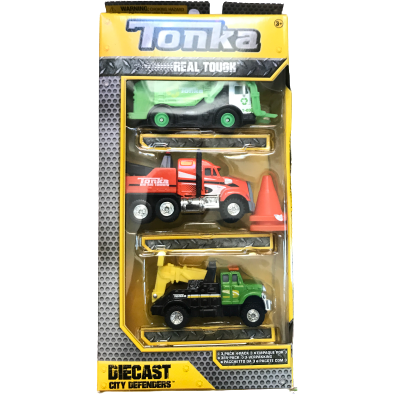 Tonka Diecast City Defenders: Set of 3
