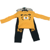 Pekkle Boy's Matching Set / 4 Piece Set / Yellow, Grey and Black / Various Sizes
