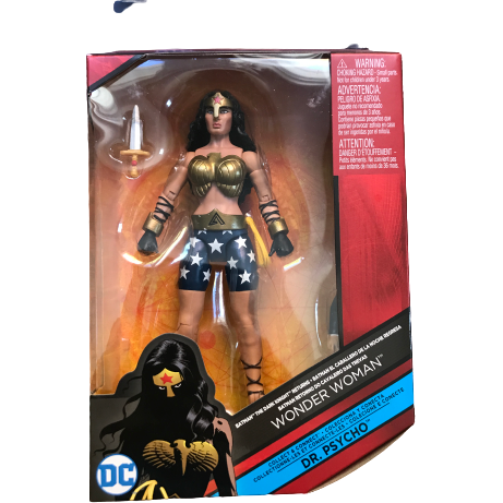 DC Comics Multiverse Wonder Women Action Figure / Collect & Connect Dr. Psycho
