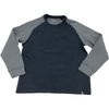Cloudveil Men's Long Sleeved Shirt: Navy and Grey: Size XXL