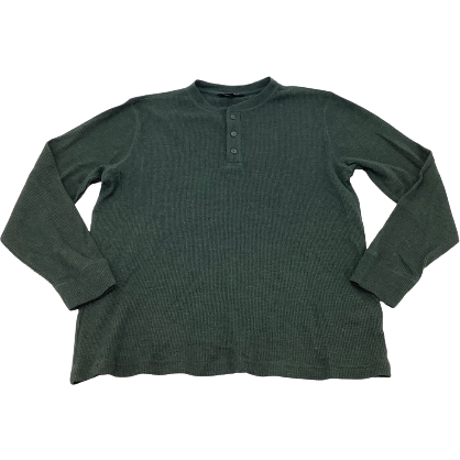 Karbon Men's Long Sleeve Shirt: Green | Large (no tags)