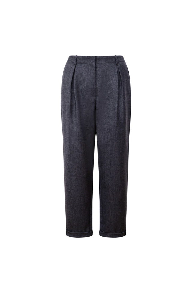 High Rise Tapered Trouser